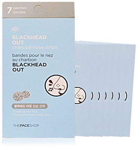 Thefaceshop Blackhead Out Charcoal Nose Strips