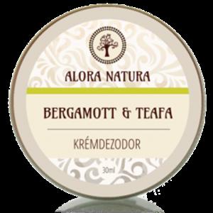 Alora Natura Bergamott-Teafa Krémdezodor