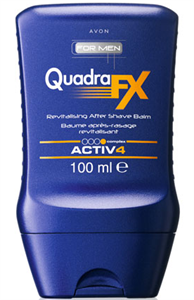 Avon For Men Quadra Fx Borotválkozás Utáni Balzsam