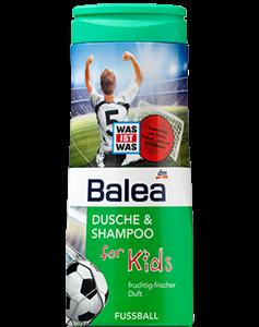 Balea Dusche & Shampoo Fussball for Kids