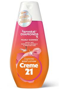 Creme 21 Crystal Diamonds Testápoló