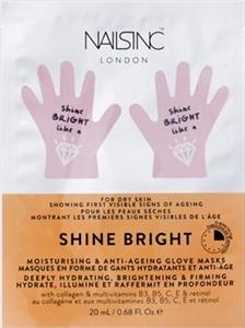 Face Inc By Nails Inc Shine Bright Kézmaszk