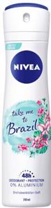 Nivea Take Me To Brazil Deo Spray