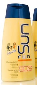 Sun Fun Sos Napozás Utáni Krém