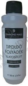 Diamond Nails Tipoldó Folyadék Vanília Illattal