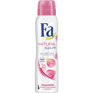 Fa Natural & Pure Rosenblüte Deo Spray