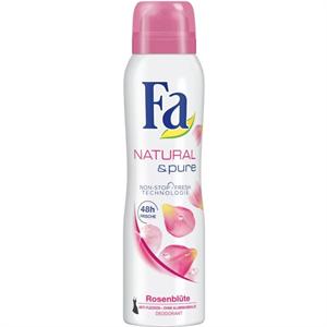 Fa Natural & Pure Rosenblüte Deo Spray