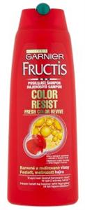 Garnier Fructis Color Resist Hajerősítő Sampon Festett, Melírozott Hajra