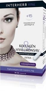 Interherb Vital Kollagén & Hyaluronsav Extra Szépségformula Kapszula