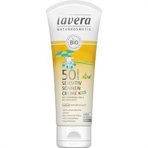 Lavera Kids Sensitiv Napvédőkrém FF50