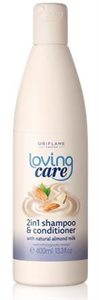 Oriflame Loving Care 2 az 1-ben Sampon és Balzsam