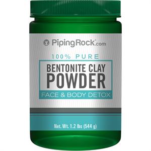 Piping Rock 100% Pure Bentonite Clay Powder