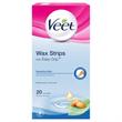 Veet Waxstrips Easy Strips Használatra Kész Hideggyanta Szalagok Érzékeny Bőrre