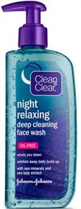 Clean&Clear Night Relaxing Mélytisztító Arclemosó