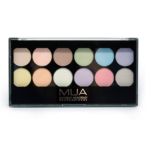 Makeup Academy 12 Shade Pretty Pastels Palette