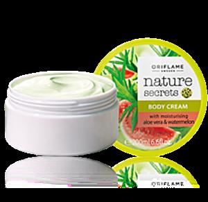 Oriflame Nature Secrets Testápoló Aloe Verával és Dinnyével