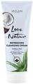 Oriflame Love Nature Frissítő Arctisztító Krém Organikus Aloe Verával és Kókuszvízzel