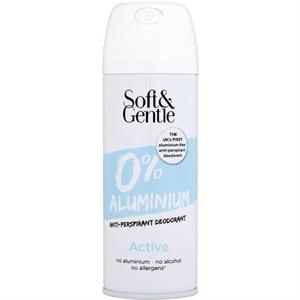 Soft & Gentle Alumíniummentes Izzadásgátló Spray Aktív