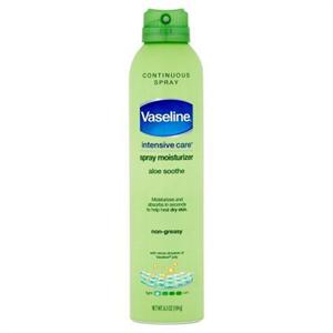 Vaseline Intensive Care Aloe Soothe Spray Testápoló