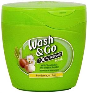 Wash&Go Hajpakolás Shea Vajjal és Kreatinnal