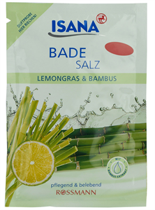Isana Fürdősó Citromfű & Bambusz Illattal