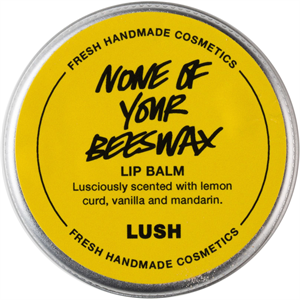 Lush None Of Your Beeswax Ajakápoló