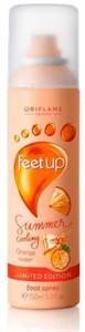 Oriflame Feet Up Summer Hűsítő Lábspray Narancsvízzel