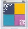 s-he stylezone Eyeshadow Quattro