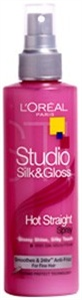 L'Oreal Studio Silk&Gloss Hot Straight Spray