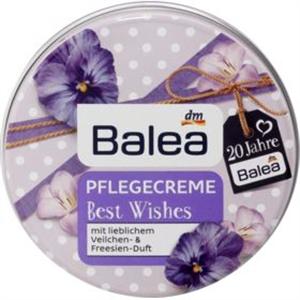 Balea Best Wishes Ápoló Krém Ibolya és Frézia Illattal