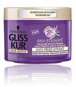Gliss Kur Asia Straight Hajegyenesító Ápoló Pakolás