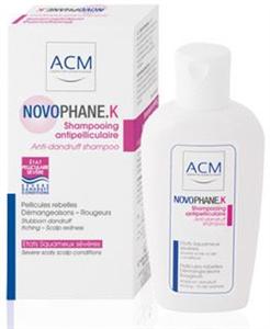ACM Novophane K Sampon Erős Korpára és Psoriasisra