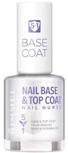 Rimmel Nail Nurse 5 in 1 Base & Top Coat
