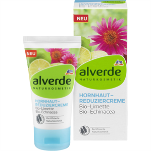 Alverde Bőrkeményedés Elleni Krém Bio Lime és Bio Echinacea Kivonattal