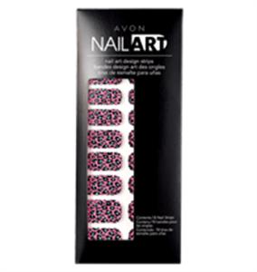 Avon Nail Art Design Körömmatrica