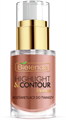 Bielenda Highlight & Contour - Bronze