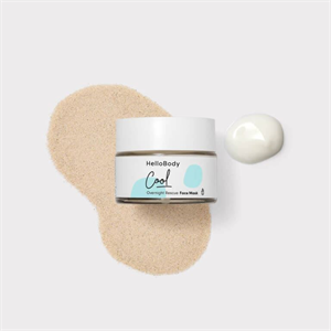 Hellobody Cool Overnight Rescue Face Mask