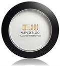 Milani Prep + Set + Go Transparent Fixáló Púder