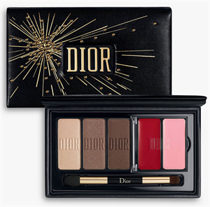 Dior Sparkling Couture Palette Satin Essentials For Eyes & Lips