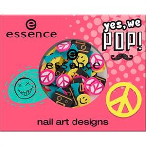 Essence Yes, We Pop! Nail Art Desings