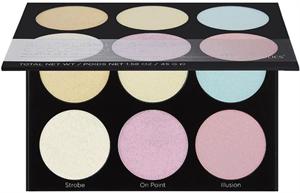 BH Cosmetics Blacklight Highlight 6 Color Palette