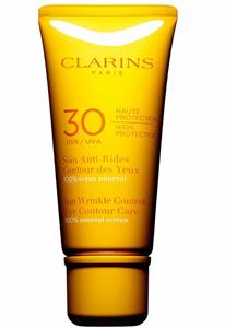 Clarins Öregedésgátló Napozókrém Szemkörnyékre UVA/UVB 30
