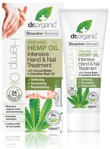 dr. Organic Intenzív Kéz- és Körömápoló Bioaktív Kendermagolajjal
