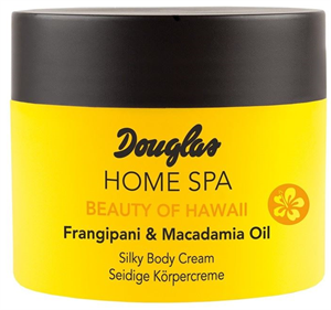 Douglas Home SPA Beauty Of Hawaii Selymes Test Krém