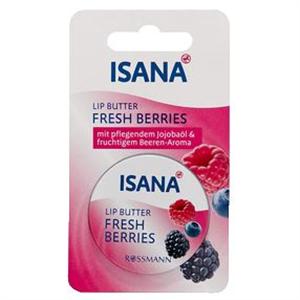 Isana Fresh Berries Lip Butter