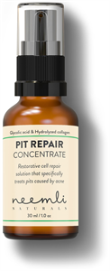 Neemli Glycolic Acid & Hydrolyzed Collagen Pit Repair Concentrate