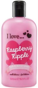 I Love... Raspberry Ripple Bath & Shower Créme