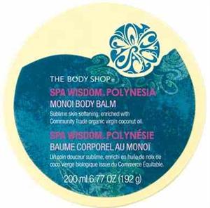 The Body Shop Spa Wisdom Polinesia Testvaj