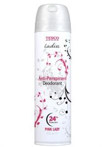 Tesco Ladies Pink Lady Izzadásgátló Deo Spray