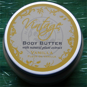 Vintage Body Butter with Natural Plant Extract - Vanilla